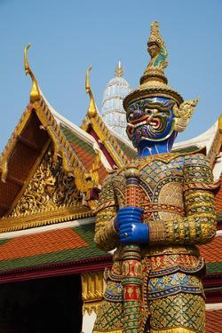 Wat Phra Kaew Inside the Royal Palace, Bangkok, Thailand, Southeast Asia, Asia by Tuul