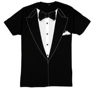 Tuxedo Costume Tee (slim fit)