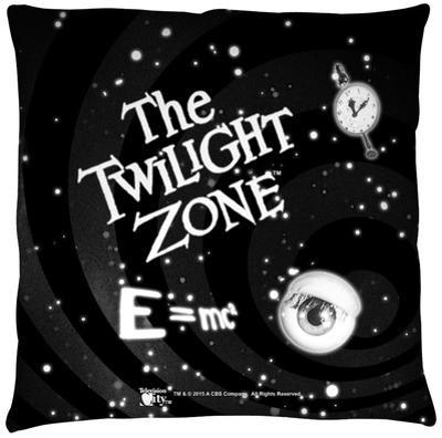 Twilight Zone - Another Dimension Throw Pillow