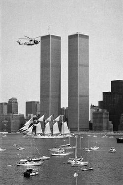 Twin Towers and Spanish Schooner