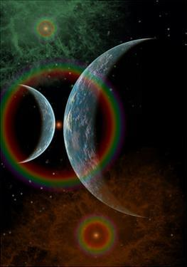 Two Alien Planets in a Distant Part of the Milky Way Galaxy