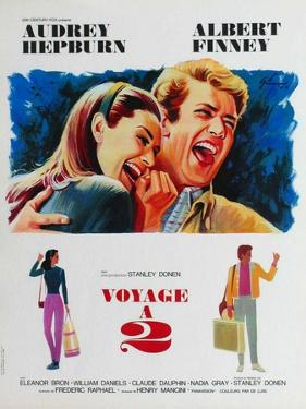 Two for the Road, French Movie Poster, 1967