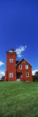 Two Harbors Lighthouse on Lake Superior's Agate Bay, Burlington Bay, Minnesota, USA
