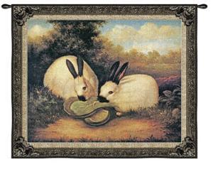 Two Himalayan Rabbits