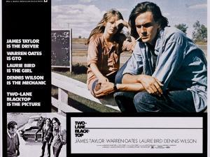 Two-Lane Blacktop, Laurie Bird, James Taylor, 1971