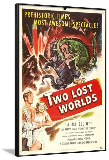 Two Lost Worlds--Framed Poster