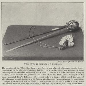 Two Stuart Relics at Peebles