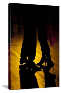 Two Tango Dancers - Backlit