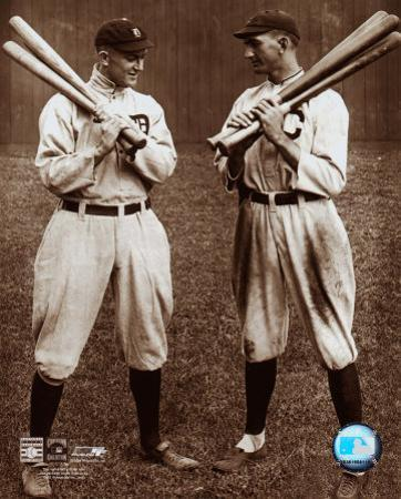 Ty Cobb and Shoeless Joe Jackson