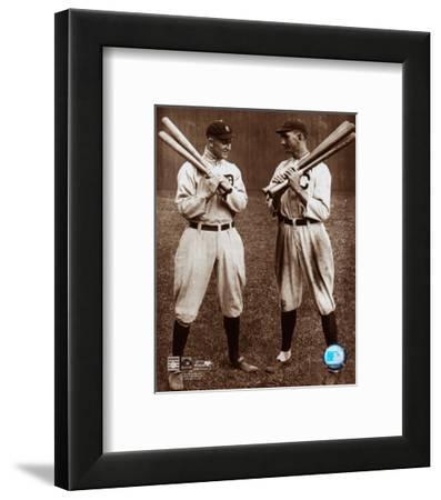 Ty Cobb and Shoeless Joe Jackson