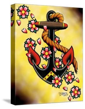 Anchor & Flowers by Tyler Bredeweg