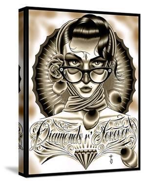 Diamonds R Forever Black by Tyler Bredeweg