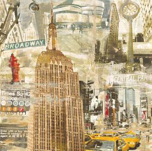 In New York City by Tyler Burke