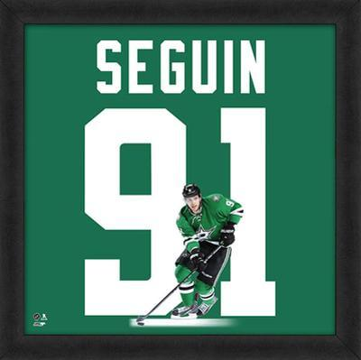Tyler Seguin, Stars Framed photographic representation of the player's jersey
