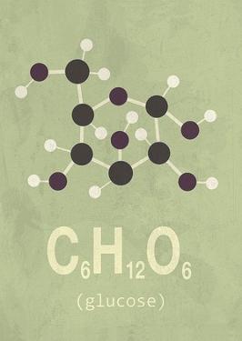 Molecule Glucose by TypeLike