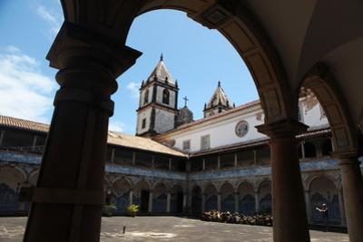 Courtyard Outside the Church Santo Antonio