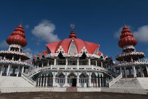 Hindu Temple at Paramaribo by Tyrone Turner