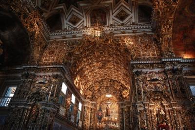 Interior of Sao Francisco of Assis Church