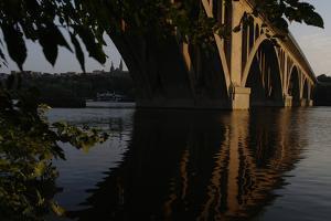 Key Bridge Looking Towards Georgetown University by Tyrone Turner