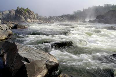 The Rapid Potomac River at Great Falls