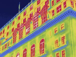 Thermal Image of a Corner Building in Washington D.C by Tyrone Turner