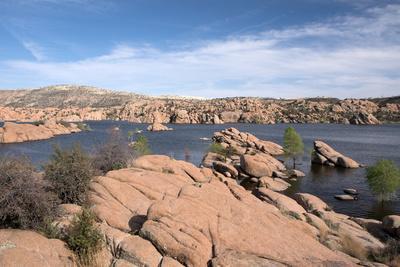 Watson Lake Park, Arizona, Usa
