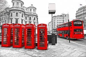 U.K. Black White and Red