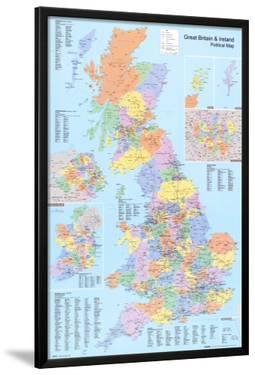 U.K. Political Map