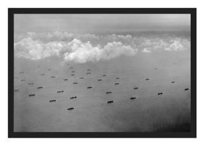 Convoy at Sea by U.S. Gov'T Navy