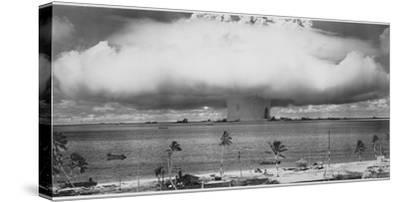 Underwater Atomic Bomb Test at Bikini Atoll in 1946 by U.S. Gov'T Navy