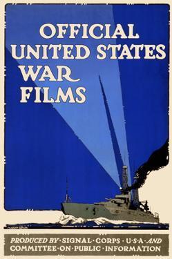 Official United States War Films by U.S. Gov't