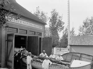 U.S. Life Saving Station, Macatawa Park, Mich.