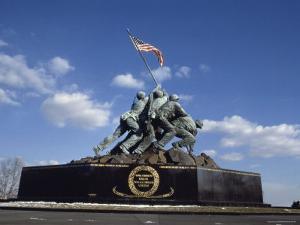 U.S. Marine Corps War Memorial Arlington National Cemetery Arlington Virginia, USA