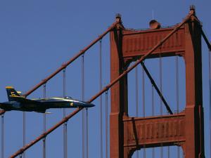 U.S. Navy Blue Angel Flight Demonstration Left Slot Pilot