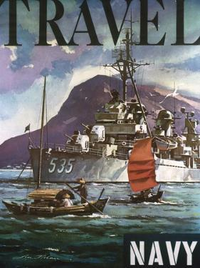 U.S. Navy Travel Poster