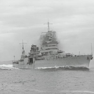 U.S.S. Indianapolis Sailing