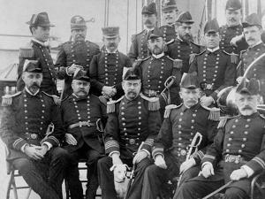 U.S.S. Lancaster, Officers