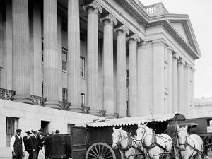 U.S. Treasury Currency Wagon, Washington, D.C.