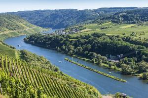 Europe, Germany, Rhineland-Palatinate, District Cochem-Zell by Udo Bernhart