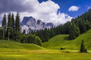 Austria, Salzburg Country, Wei§bach with Lofer by Udo Siebig