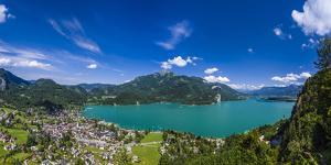 Austria, Salzburger Land (Ferderal State of Austria), Lake Wolfgangsee by Udo Siebig