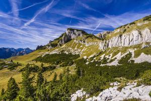 Austria, Tyrol, Achensee Region, Rofan (Mountains), Maurach Am Achensee by Udo Siebig