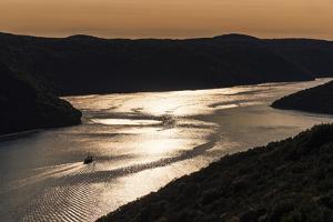 Croatia, Istria, Adriatic Coast, Vrsar, Limski Channel Near Klostar by Udo Siebig