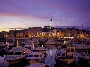 Croatia, Istria, West Coast, Rovinj, Harbor by Udo Siebig