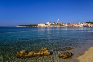Croatia, Rab Rab Town, View from Banjol by Udo Siebig