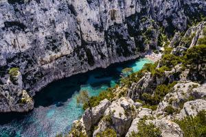 France, Provence, Bouches-Du-Rh?ne, Riviera, Cassis, Calanque D'En Vau by Udo Siebig