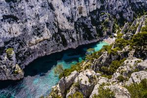 France, Provence, Bouches-Du-Rh™ne, Riviera, Cassis, Calanque D'En Vau by Udo Siebig