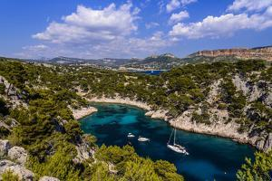 France, Provence, Bouches-Du-Rh?ne, Riviera, Cassis, Calanque De Port Pin by Udo Siebig