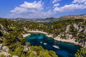 France, Provence, Bouches-Du-Rh™ne, Riviera, Cassis, Calanque De Port Pin by Udo Siebig