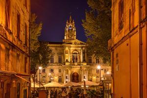 France, Provence, Vaucluse, Avignon, Place De L'Horloge, City Hall by Udo Siebig